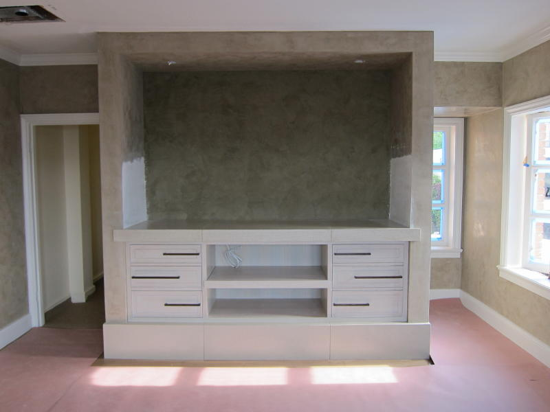 Penthouse Bedroom Cabinet by Mitchel Berman Cabinetmakers
