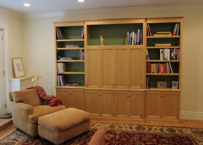 Custom TV & Storage Cabinet for San Francisco Home
