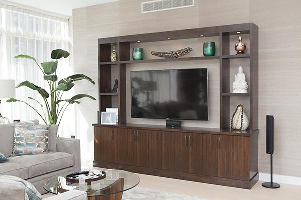 San Francisco Living Room TV Cabinet Mitchel Berman