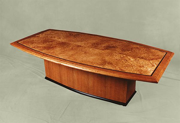 Custom Dining Tables By Mitchel Berman Karelian Birch