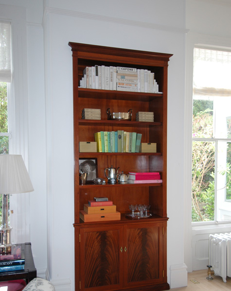 living room bookcases on Mahogany Living Room Bookcase   Mitchel Berman Cabinetmakers  Inc
