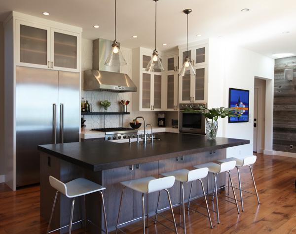 remarkable modern house interior design kitchen   Modern Beach House Kitchen   Mitchel Berman   Bay Area
