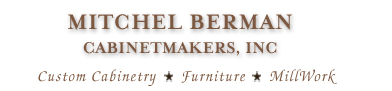 Berman Cabinetmakers | Custom Cabinetry | Millwork