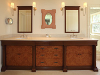 Biedermeyer Inspired Bath Vanity