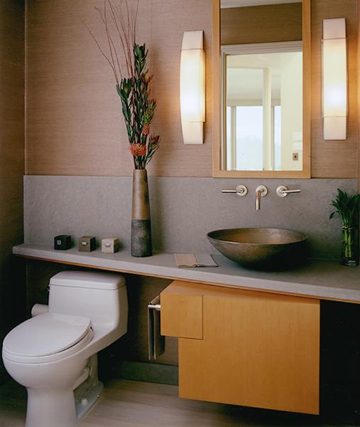 Powder Room Cabinets Vanities By Mitchel Berman
